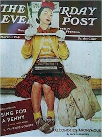 Saturday Evening Post Cover, March 1, 1941